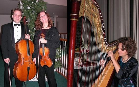 Harp-Violin-Cello Trio
