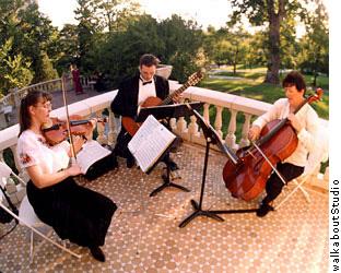 Violin, Guitar, Cello