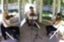 2 violins cello trio
