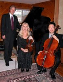 Piano violin cello trio