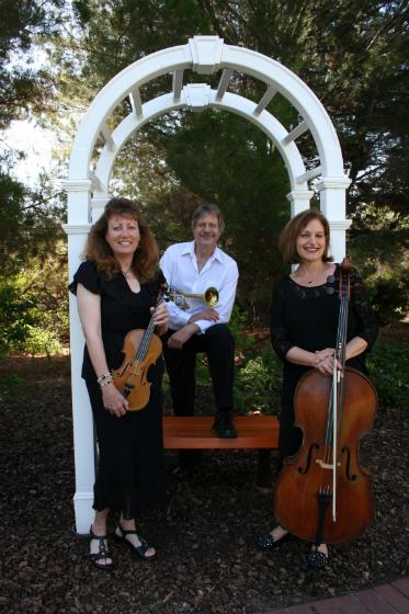 Violin Trumpet Cello trio