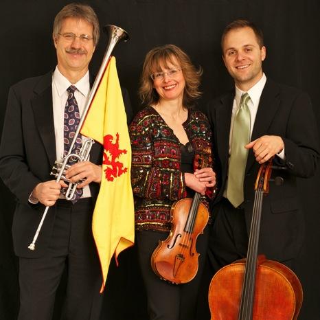 Trumpet, Violin, Cello