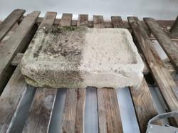 Aerogommage pierre calcaire