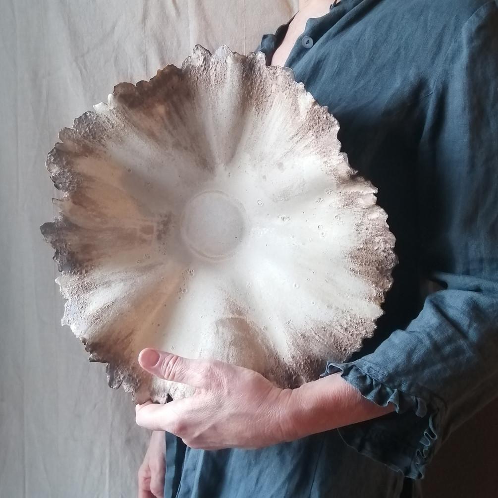 creased bowl