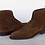 Thumbnail: Men's Brown Wing Tip Ankle Suede Boots Dress Boot