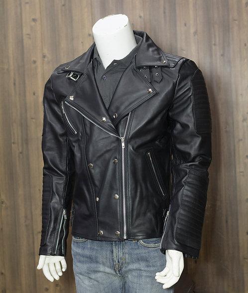 Men Leather Jacket , Biker Leather Jacket