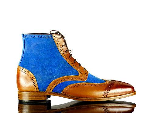 Men Multi color Shoes, Dress Bespoke Oxfords
