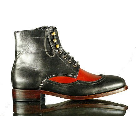 Men's Iron Ranger Leather Boots in Black