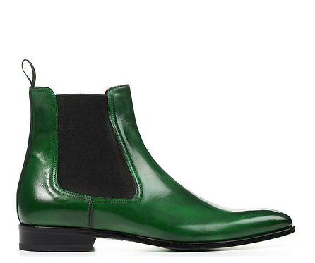 Men's Chelsea Ankle Boots Slip On Leather Dress Boots