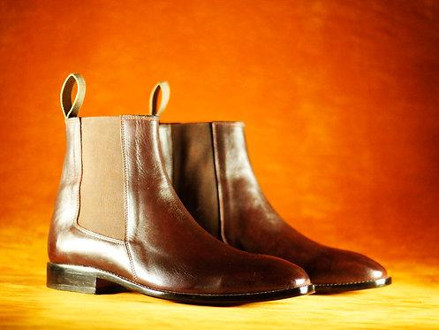 Men's Handmade  Leather Boots Chelsea designer Cordovan Boots