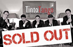 TintoTango Concert Sold Out