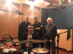 TintoTango Recording Session_Drums 2