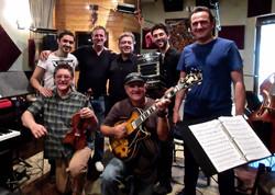 TintoTango Album Recording session
