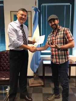 Argentinean Ambassador Endorsement