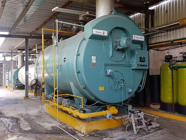 Calderas industriales de gas