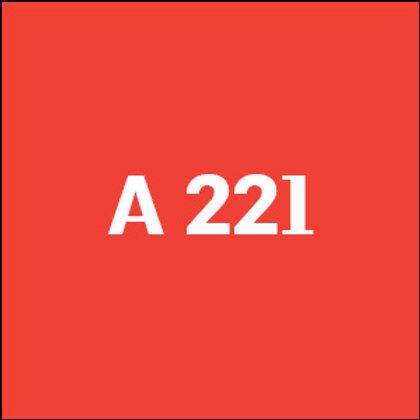 A 221 - 2018
