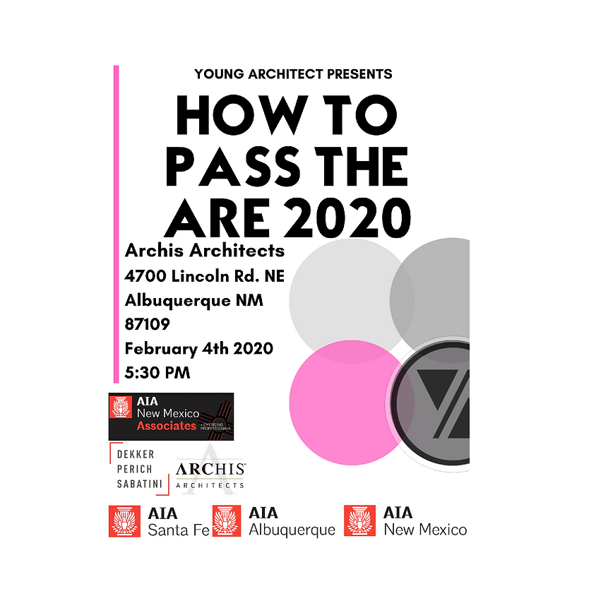 AIA New Mexico Associates ARE 2020