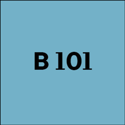 B 101 - 2017
