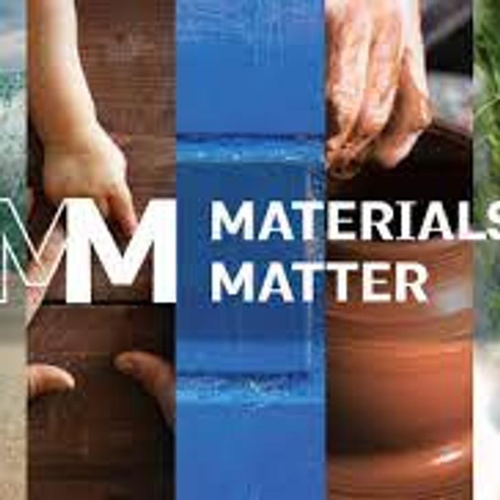 MATERIALS MATTER CERTIFICATE PROGRAM (7.5 HSW)