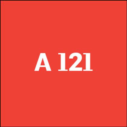 A 121 - 2018