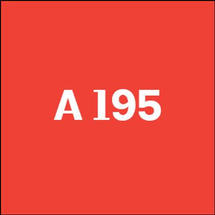 A 195 - 2018