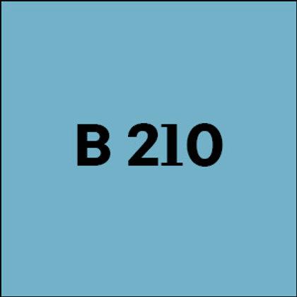 B 210 - 2017