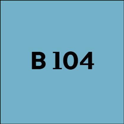 B 104 - 2017