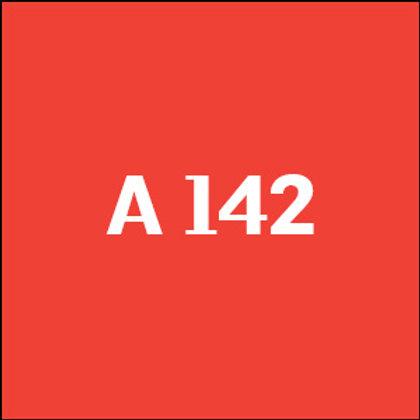 A 142 - 2014