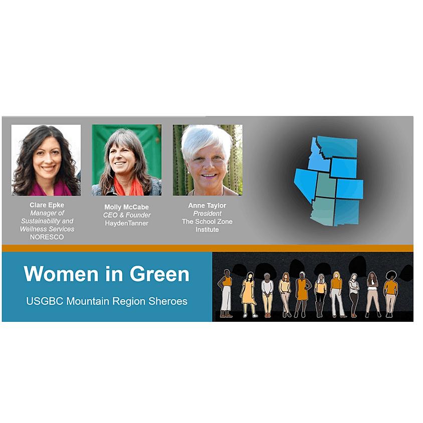 Women in Green: Mountain Region Sheroes