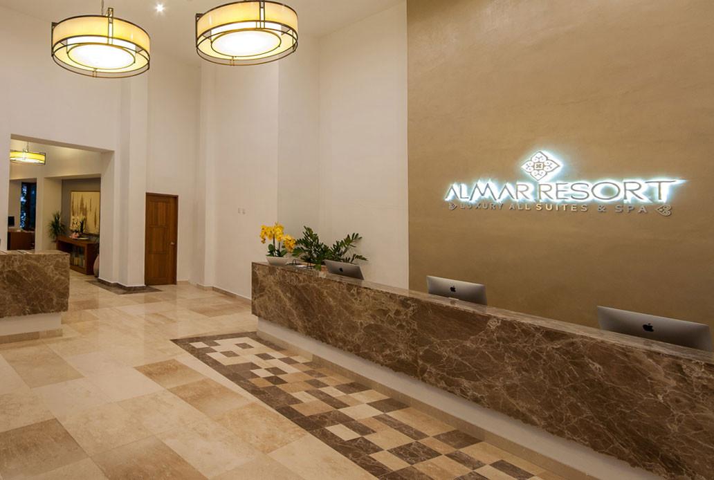 Front Desk Almar Resort