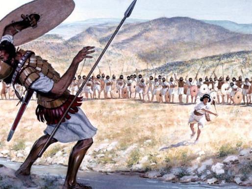 הגיים פלאן הראשון בהסטוריה - דוד וגוליית - שאול זגהר