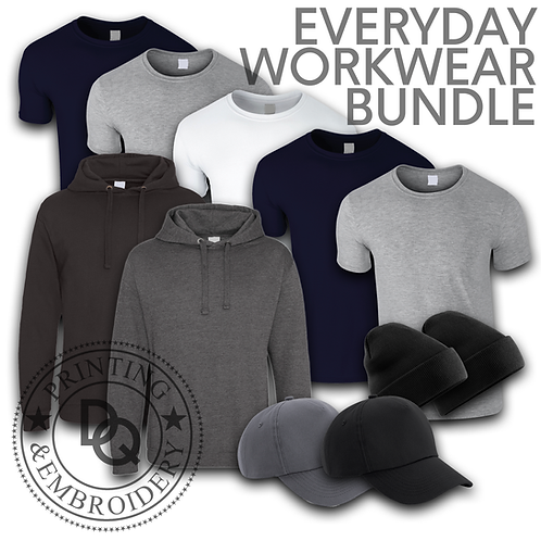 Printed / Embroidered Everyday Workwear Bundle