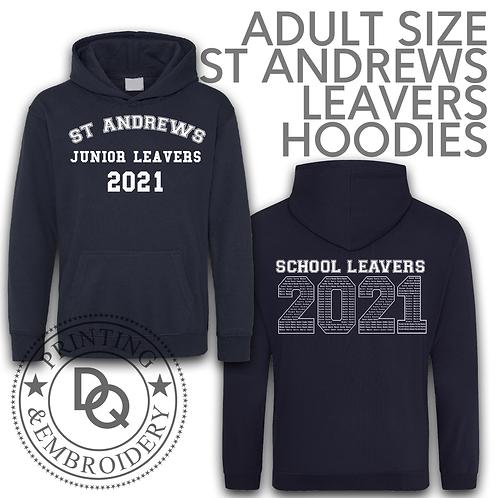 Adult Size St Andrews Leavers Hoodies