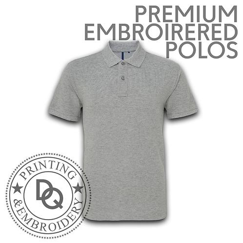 Premium Embroidered Polo Shirt
