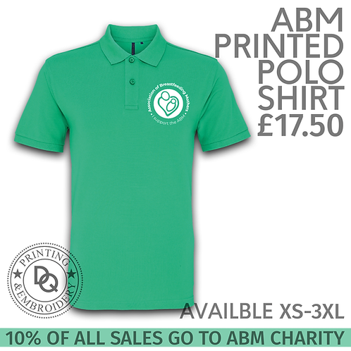 ABM Printed Polo Shirt