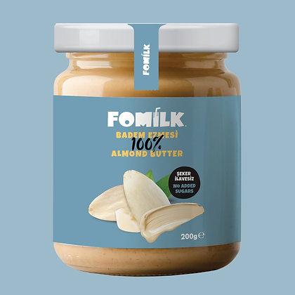 Fomilk %100 Badem Ezmesi / Almond Butter 200g