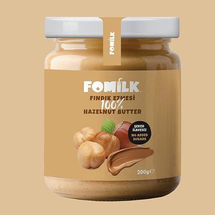 Fomilk %100 Fındık Ezmesi / Hazelnut Butter 200g