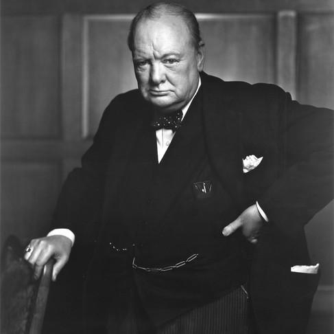 Winston Churchill - Prime Minister, British Military Leader & Statesman Of Great Britain