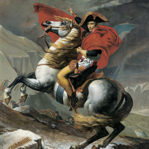 """Napoleon Bonaparte - """"Never interrupt your enemy when he is making a mistake"""""""