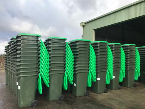 New Organic Waste Bins