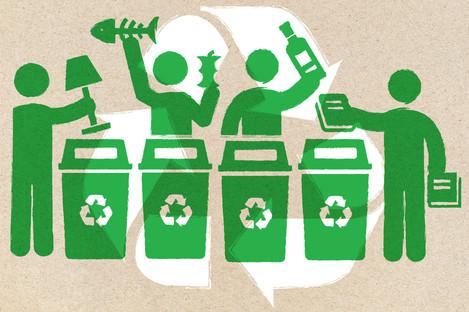 Council-supplied organic waste bins