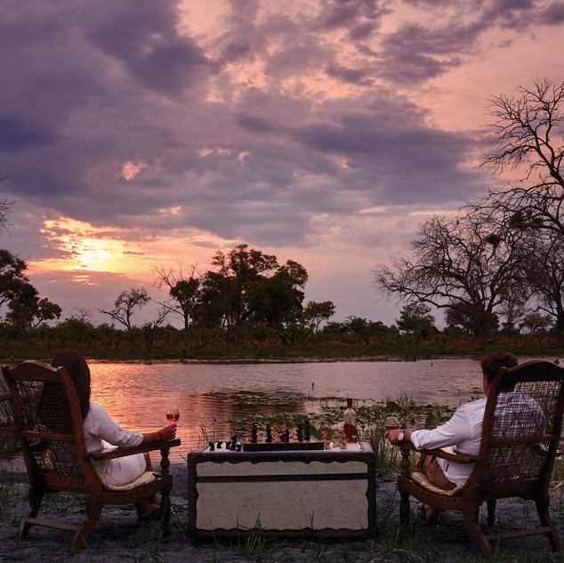 7 nights: Okavango Delta, Moremi Wildlif