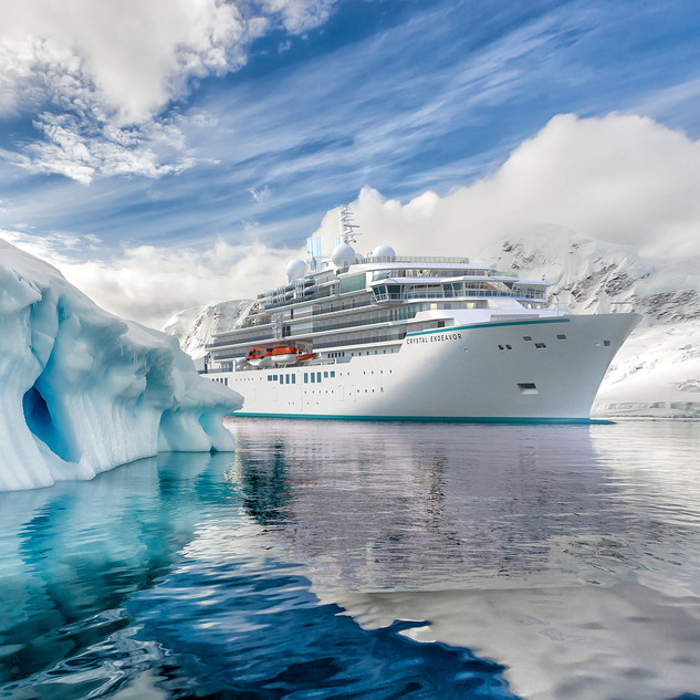 Crystal Expedition Yacht - 2021 Voyages