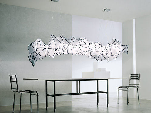 Cocoon Lines 2 / White / 2 meter
