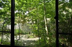 ウッドフェンス|フロアデッキ(枕木)|(庭改修工事)