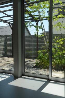 ウッドデッキ|ウッドフェンス|パーゴラ(新築庭工事)