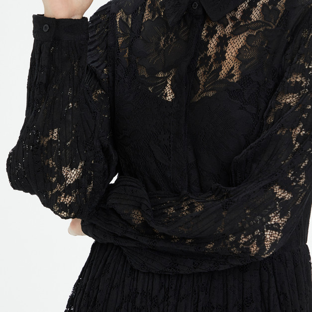 Spitzenkleid schwarz (Alicia Lace Dress)