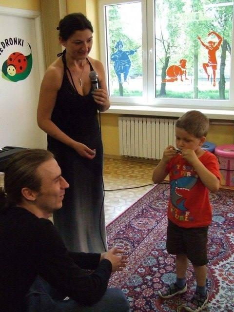 Podczas audycji dla dzieci