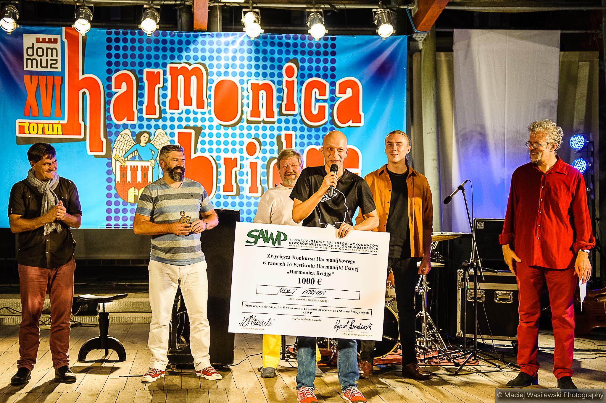 Jury Harmonica Bridge 2016