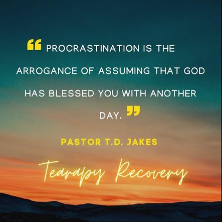 Procrastination Is A Trip